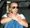 britney spears minor car accident