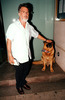 dustin hoffman with oscar the dog