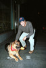 george clooney with oscar the dog