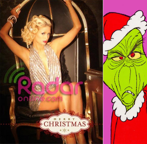 Paris has finally done what The Grinch has never been able to pull off: She ...