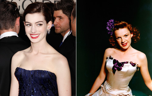 anne hathaway to take on judy garland!
