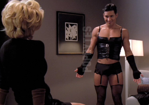 Remarkable, Mario lopez lingerie can