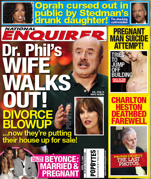 Dr. Phil's Wife Walks Out Necover-172