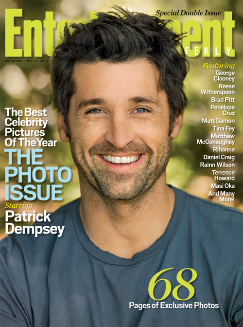 hottie patrick dempsey nabs EW cover!