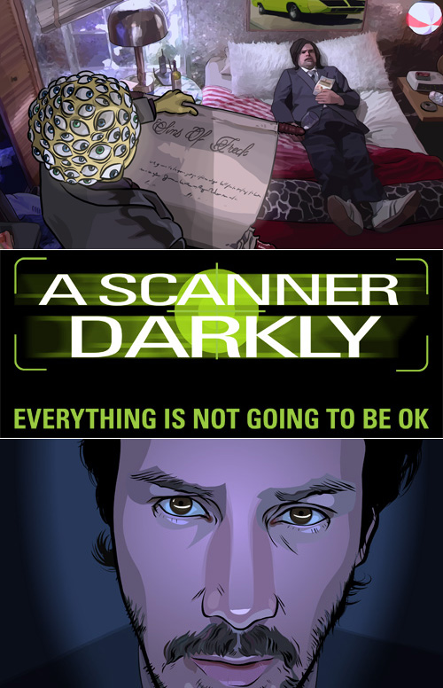 A Scanner Darkly Cover