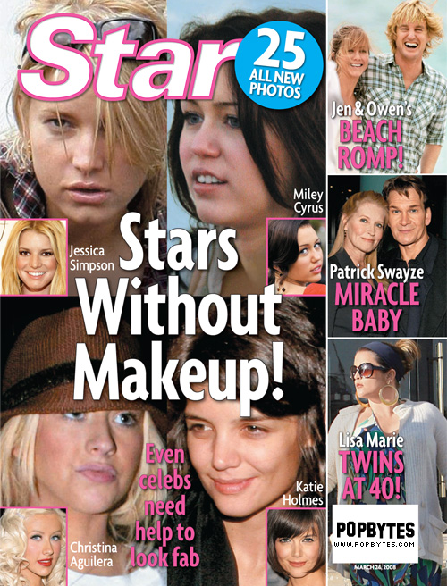 stars without makeup. Stars without makeup!