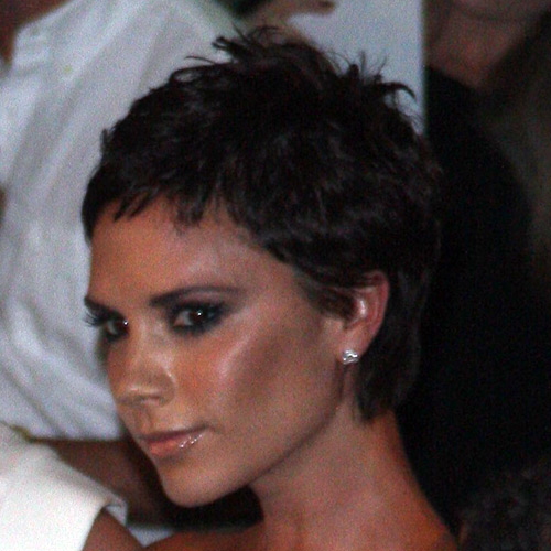 Victoria Beckham Pixie Hair. Filed Under: Victoria Beckham
