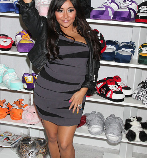 Slippers by Snooki? Seriously?