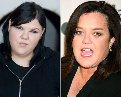 Ashley Fink and Rosie O'Donnell