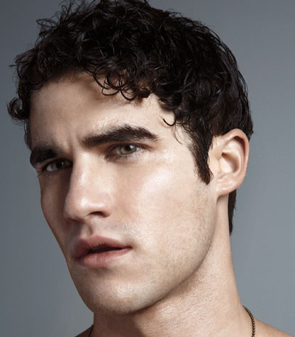Cutie Darren Criss covers OUT magazine!