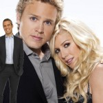 Andy Cohen, Spencer Pratt and Heidi Montag