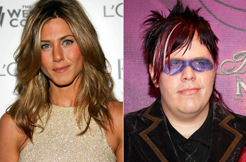 Jennifer Aniston and Perez Hilton