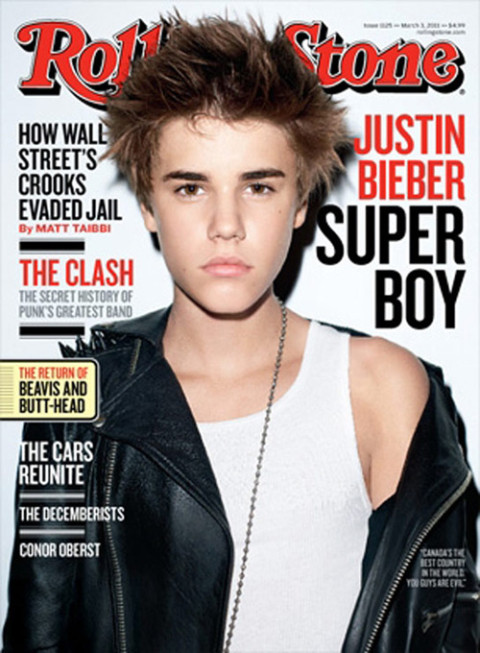 Justin Bieber - Rolling Stone