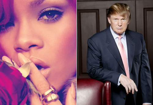 Rihanna vs. Donald Trump!