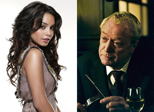 Vanessa Hudgens loves Michael Caine!