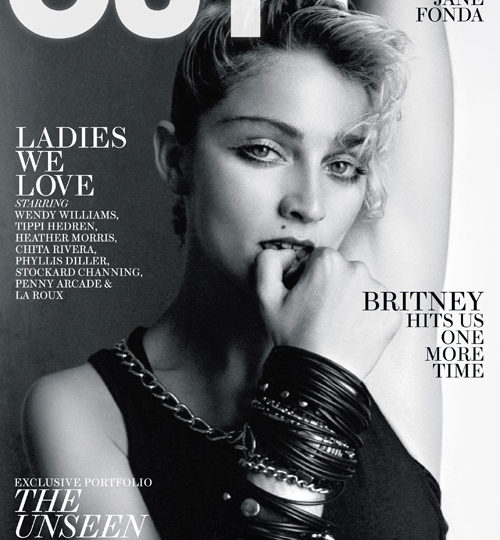 Vintage Madonna covers OUT magazine!