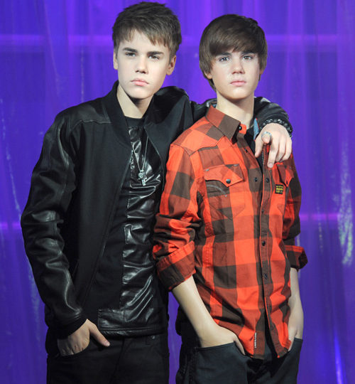 Justin Bieber's wax figure is terrible!