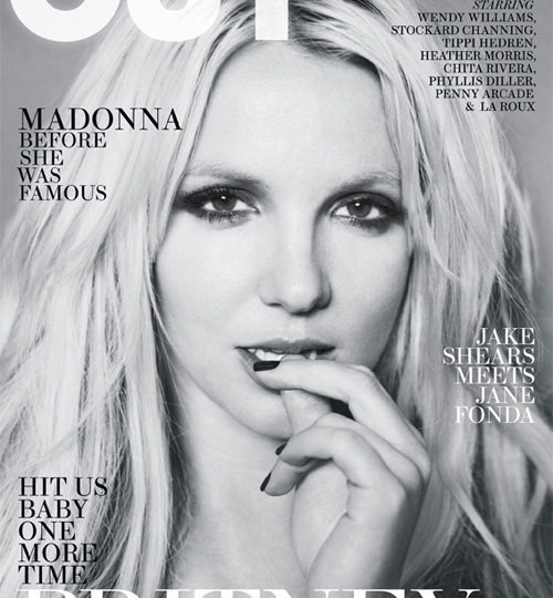 Britney Spears covers OUT magazine!