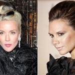 Daphne Guinness and Victoria Beckham