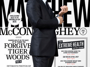 Matthew McConaughey covers 'Esquire'