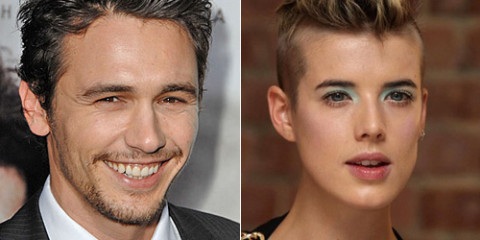 James Franco and Agyness Deyn