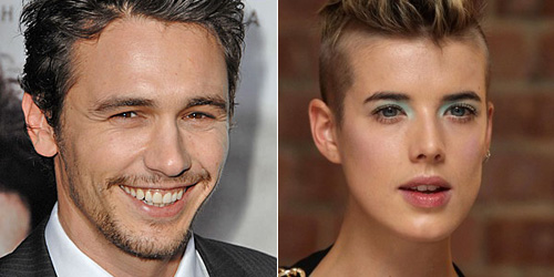 James Franco and Agyness Deyn?