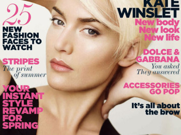Kate Winslet stuns on the cover of Vogue UK!