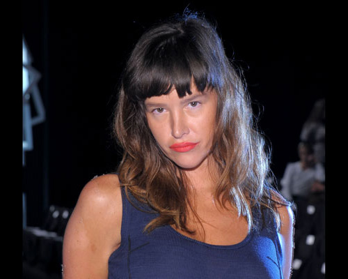 Paz de la Huerta is tits-out INSANE!