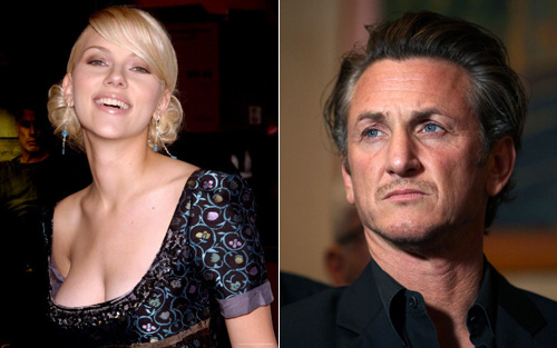Sean Penn and Scarlett Johansson are official!