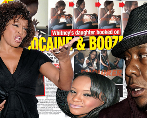 Whitney Houston's daughter in rehab!