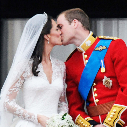 Prince William and Kate Middleton are married!
