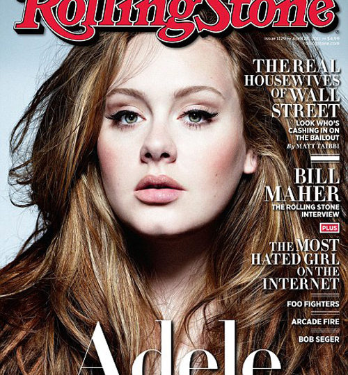 Adele graces the cover of Rolling Stone!