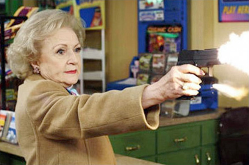 Betty White is sick of your crap!