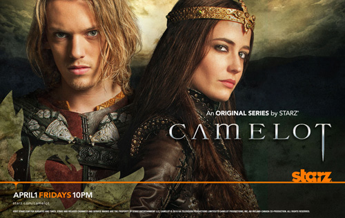 Are you watching 'Camelot' on Starz?