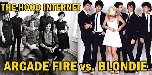 Sprawl Of Glass: Arcade Fire vs. Blondie
