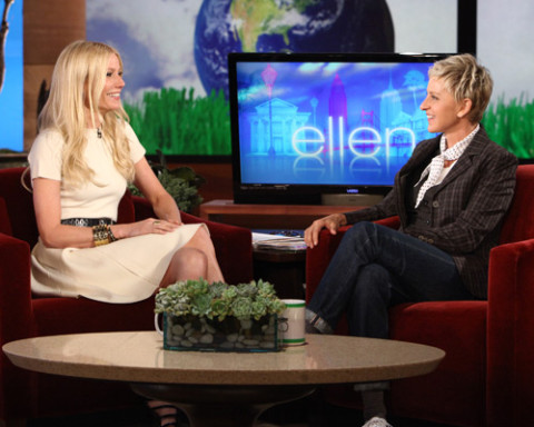 Gwyneth Paltrow and Ellen DeGeneres