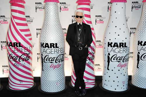 FashionBytes: Hanging with Karl at the Diet Coke launch!