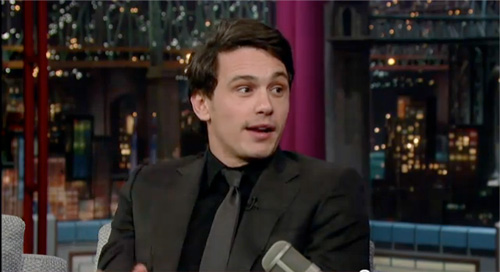 James Franco wasn't stoned during the Oscars!