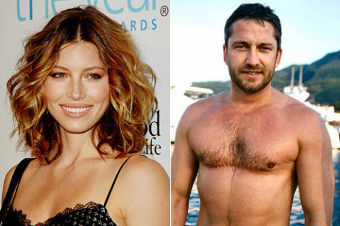 Jessica Biel and Gerard Butler