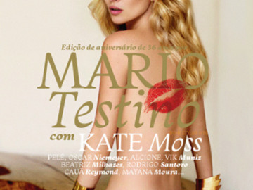 FashionBytes: Kate Moss goes naked for Vogue!