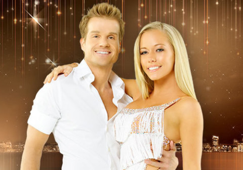 Kendra Wilkinson and Louis Van Amstel
