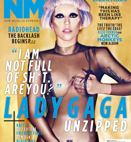 Lady Gaga to NME: I'm not a Madonna rip-off!
