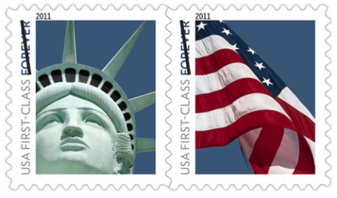 Las Vegas' Lady Liberty Stamp