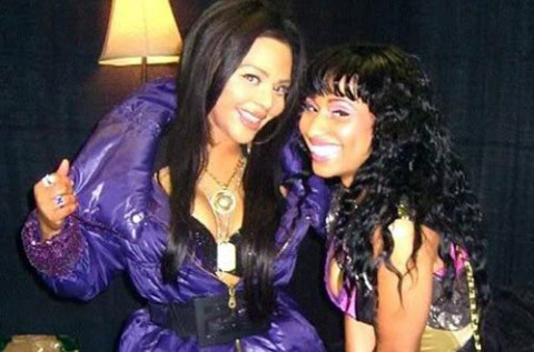 Lil' Kim and Nicki Minaj