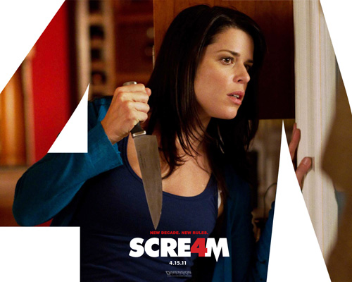 'Scream 4' is totally fun!