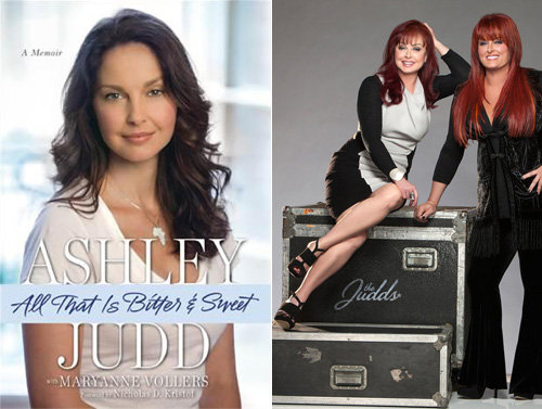 Ashley Judd's autobiography is a publicity ploy?