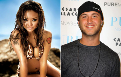 Tila Tequila and Nick Hogan