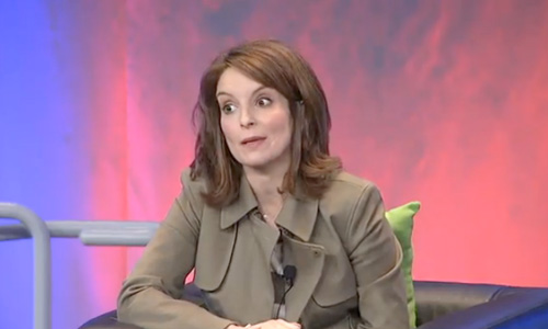 Interview: Authors@Google's fireside chat with Tina Fey!