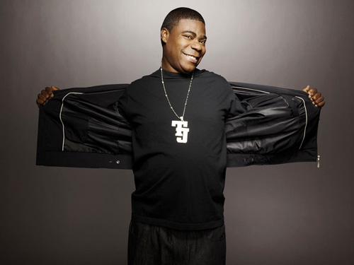 Does Tracy Morgan stuff his crotch?