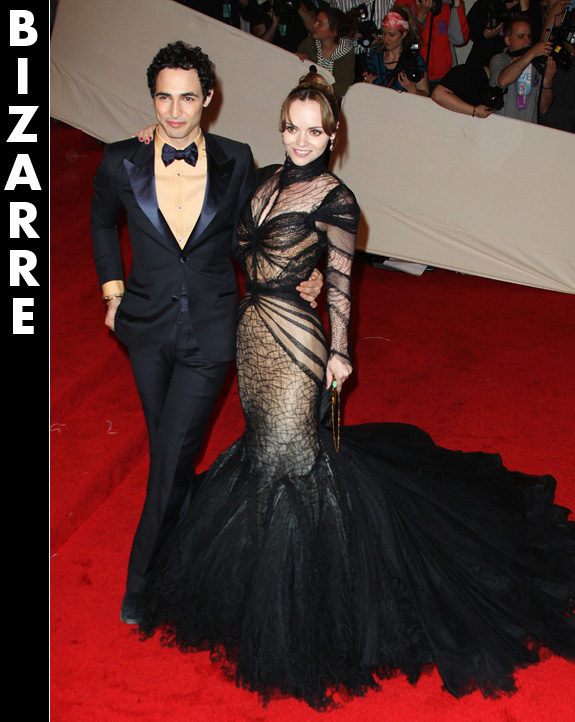 Christina Ricci and Zac Posen